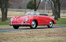 1955 Porsche 356A/1600 Speedster (No Reserve) *One of the last 100 built with Upgraded Suspension and 1600 cc Engine*