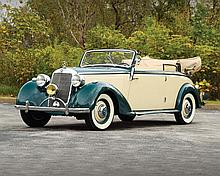 1940 Mercedes-Benz 230 Cabriolet B (Has Copies of Original Paperwork & Photo-documented Restoration)
