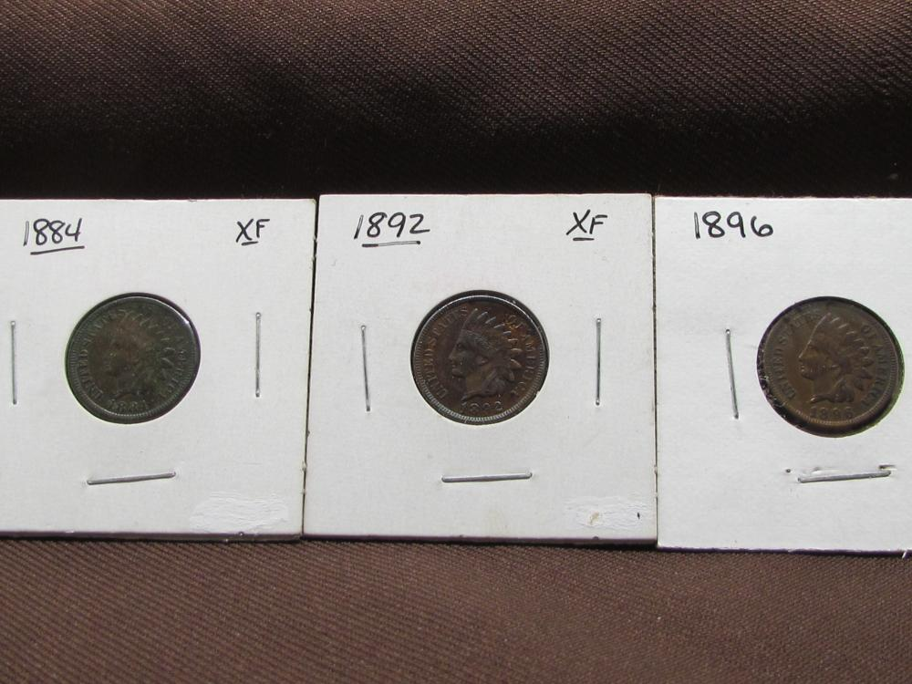 3 Indian Head Cents