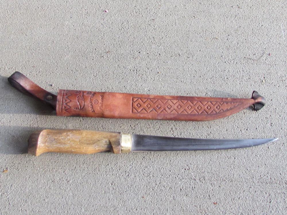 Vintage J.Marttiini Rapala, Fillet Knife