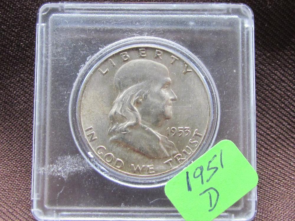 Silver Jefferson Half Dollar