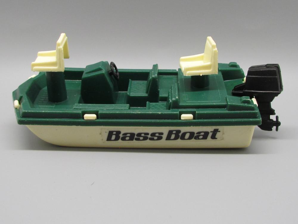 Vintage Tootsie Toy Bass Boat