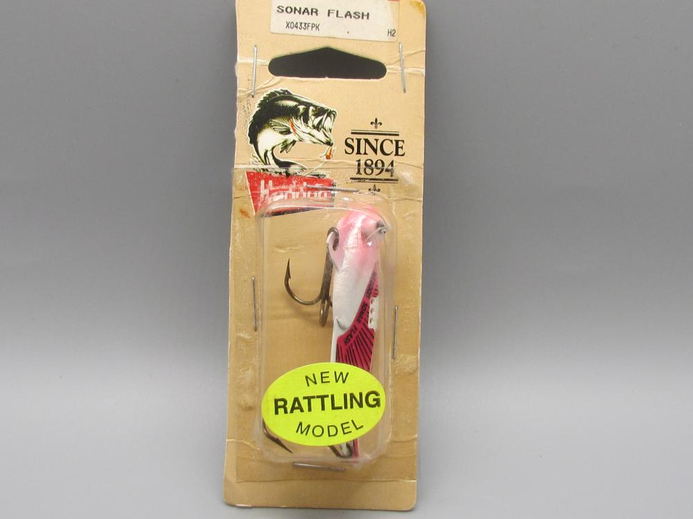 Vintage Heddon Sonar Flash Fishing Lure