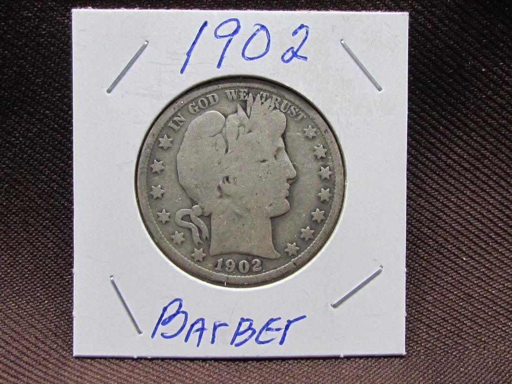 Silver Barber Half Dollar