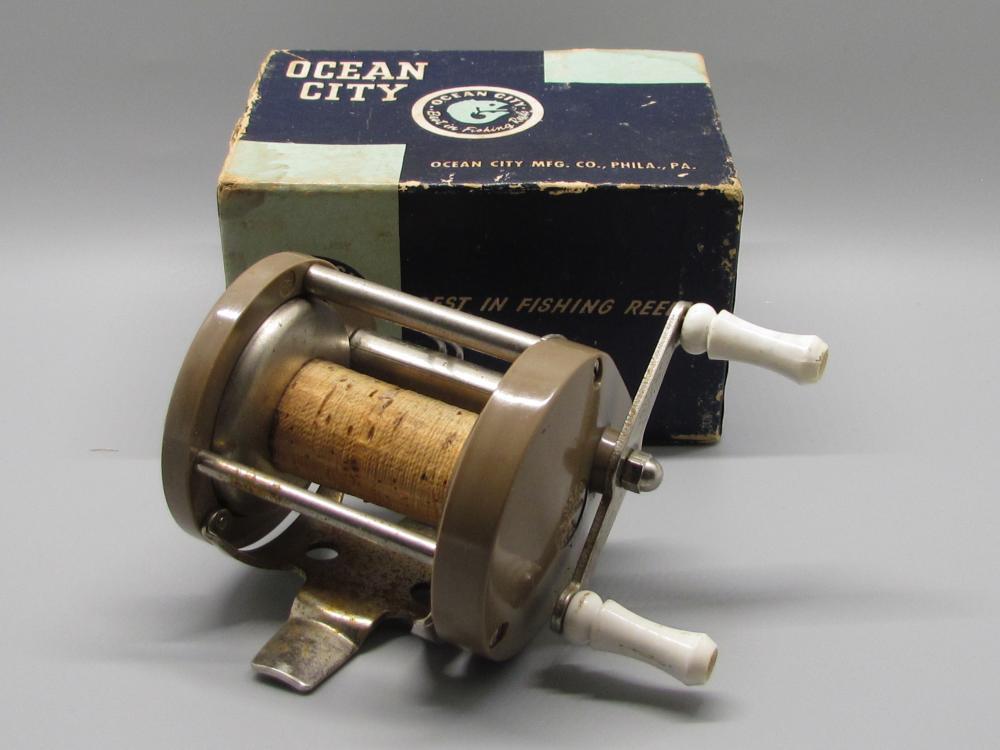 Vintage Ocean City Fishing Reel