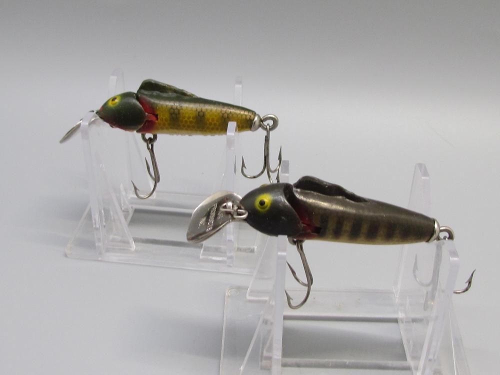 2 Vintage King Chub Fishing Lures.