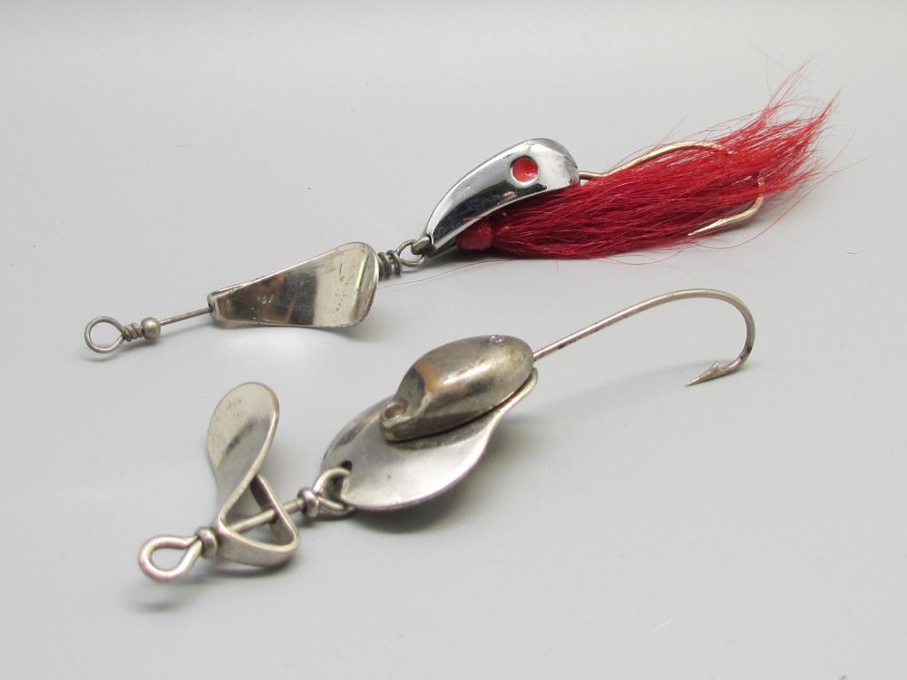 2 Vintage Al Foss Fishing Lures
