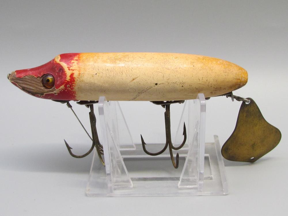 Vintage Heddon Flaptail Fishing Lure
