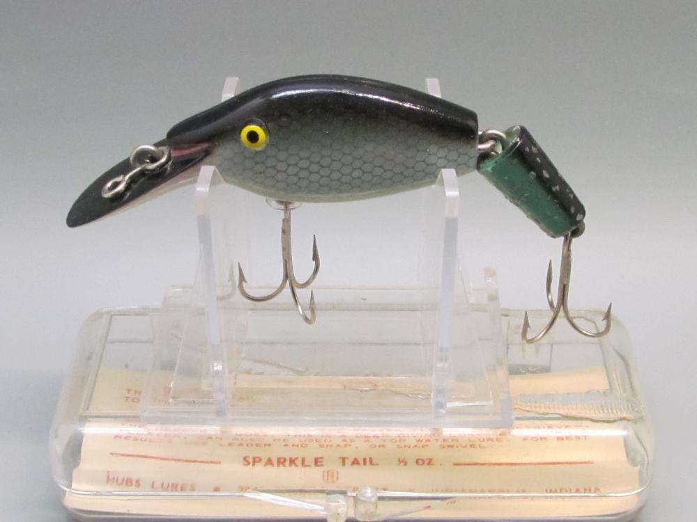 Vintage Sparkle Tail Fishing Lure