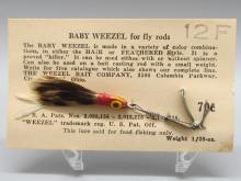 Vintage Baby Weezel Lure for Fly Rod