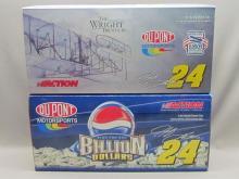 Jeff Gordon Empty Diecast Boxes