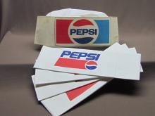 Vintage Paper Pepsi Hats