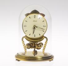 Collectible Torsion Clock KUNDO MIDGET 400-DAY CLOCK 1965 Vintage 'Anniversary' Clock Locking Pendulum Complete W/Key Excellent Condition