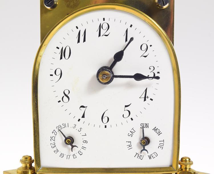 Antique Torsion Clock SCARCE KIENZLE 400-DAY ANNIVERSARY