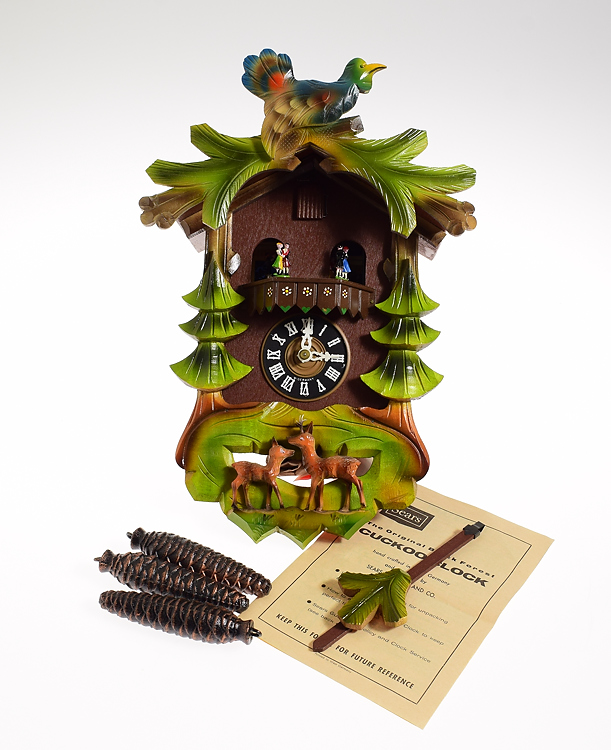 Schmeckenbecher For Sears Cuckoo Clock Vintage Original Pack