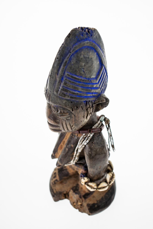 2Pcs Antique AFRICAN YORUBA TRIBE HAND CARVED FEMALE IBEJI