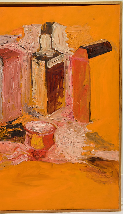 Color still life painting salvatore grippi untitled 1965 ori Paintings that are worth a lot of money