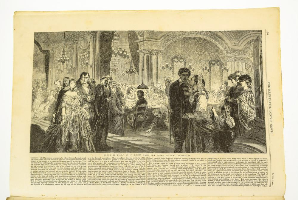 Antique Lithography1878 Antique PrintNewspaper Illustrated London News 1878Print LithographOld Antique LithographDinner in the Pavilion