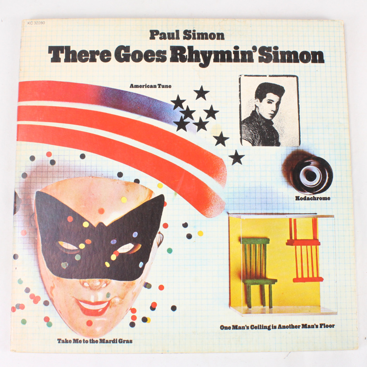5pcs vintage vinyl albums classic rock elton john paul simon for Classic house music albums