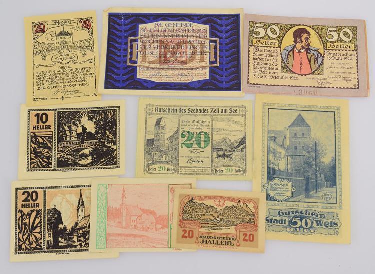 24pcs notgelder marks german antique european currency serbi for Antique items worth a lot of money
