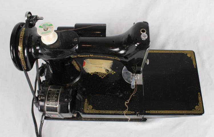 1950 singer sewing machine manual