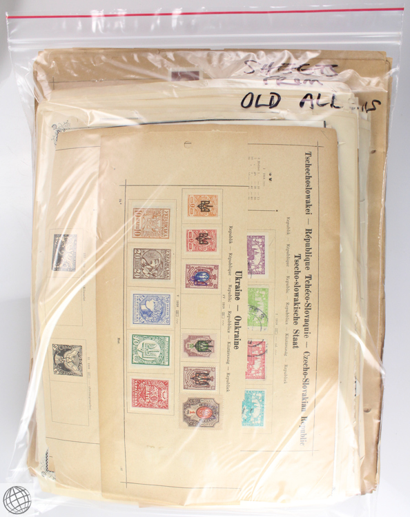 Large collection antique and vintage stamps covers decorat for Antique items worth a lot of money