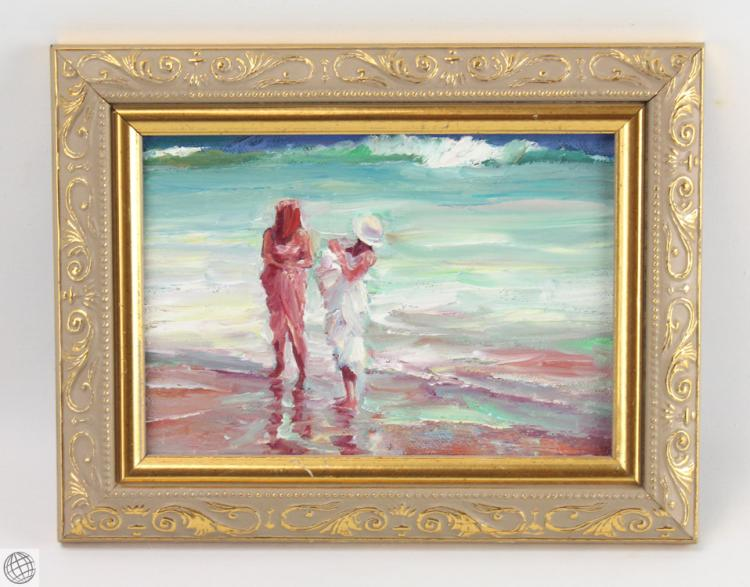 7pcs signed twentieth century realist paintings framed oil o Paintings that are worth a lot of money