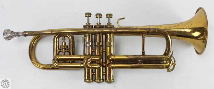 1954 DG CONN CORNET Brass Instrument Original Case 7C