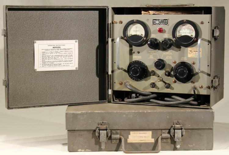 Scarce Cold War Militaria POWER MEASURING KIT & SUMMATION BRIDGE URM-23 US Navy Air Force Radio Equipment Bruno Communist Surveillance