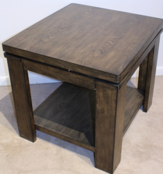 2Pcs NEW STOCK END TABLES Wooden Side Table Transitional ...