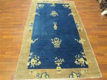 Antique Chinese Peking rug-3511