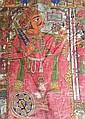 PAINTED 'PABUJI-KI-PHAD' MURAL TEXTILE