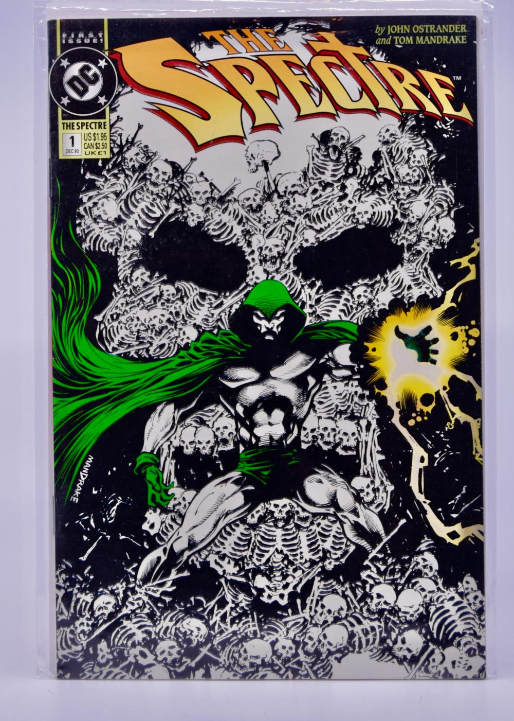 Sold Price 1992 Dc Comics The Spectre Issue 1 Glow In The Dark Cover Collectible August 4 0120 7 00 Am Mst
