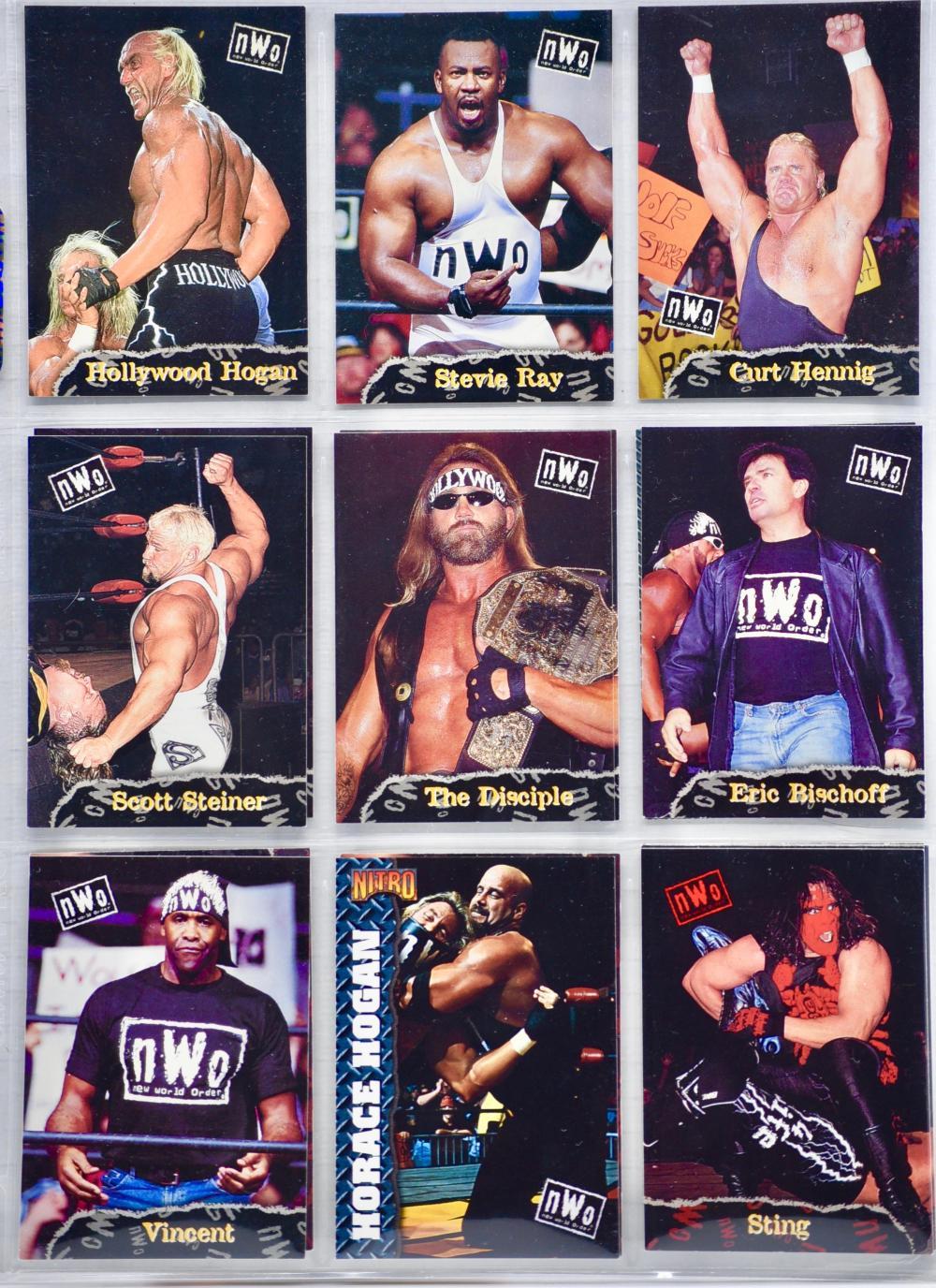 Sold Price: 2004 - Pacific / TNA - 42 Vintage Wrestling Trading ...