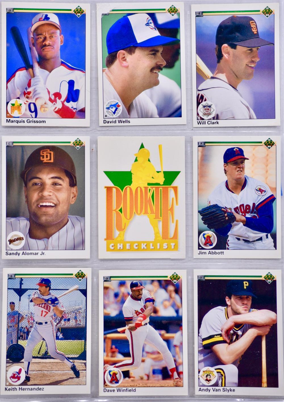 Sold Price 20   MLB / Upper Deck Vintage Baseball Trading Cards ...