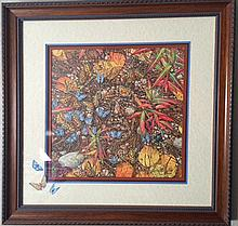 Native American inspired lithograph, New Magic by Bev Doolittle