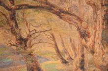 From the Treeline by Swiss artist Johann-Ulrich Burri (J. Url. Burri) ca. 1835