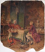 Drinking with the Cardinal by Bernard Louis Borione