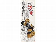 Wang Geyi (1896-1988) leaves Aoshuang
