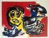 Karel Appel (Dutch, 1921-2006), Karel Appel, $600