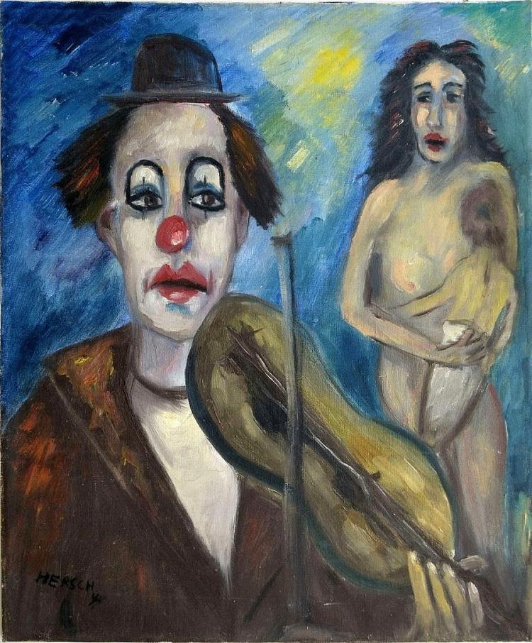 Hershl Ben Haim (Zvi Caspi) (Israeli - Polsih, b. 1930)