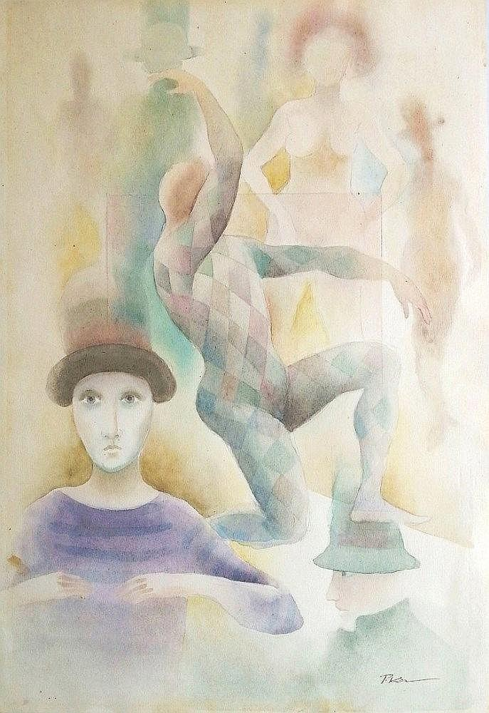 Paul Kor (Israeli - French, 1916-2001)