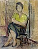 Moussia Toulman (French - Israeli - Ukrainian, 1903-1997), Moussia Toulman, $180