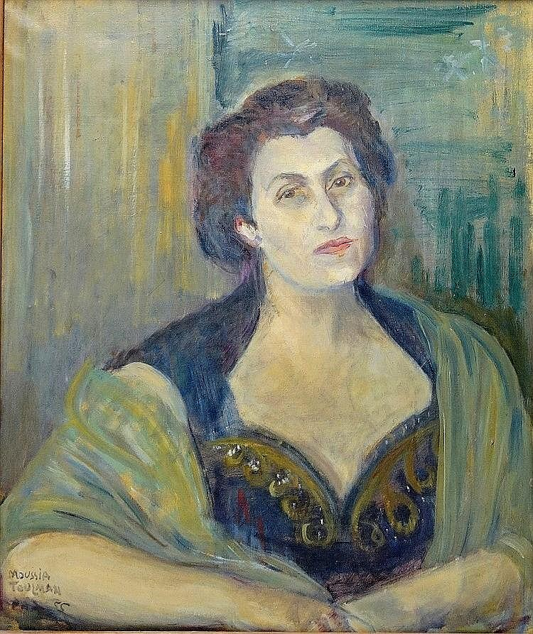Moussia Toulman (French - Israeli - Ukrainian, 1903-1997)
