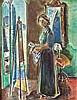 Chaya Schwartz (Israeli, born Poland, 1912-2001), Chaya Schwartz, $120