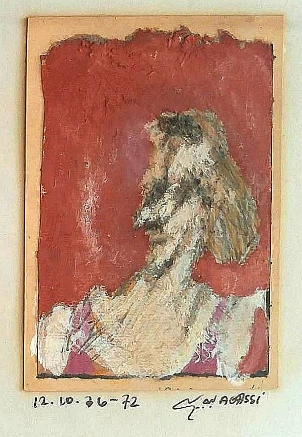 Meir Agassi (Isreali - British, 1947-1998)