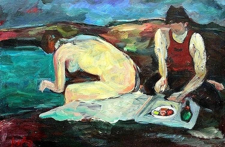 Moshe Fishzon (Israeli - Polish, 1908-1982)