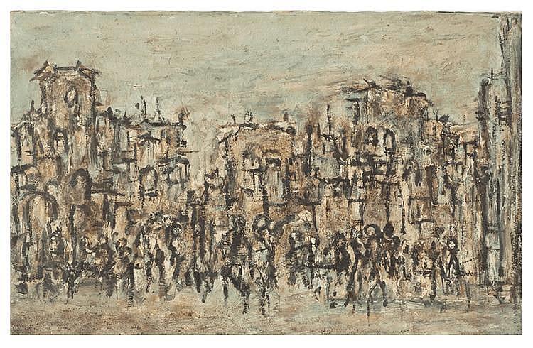 Yona Lotan (Israeli - French, 1926-1998)
