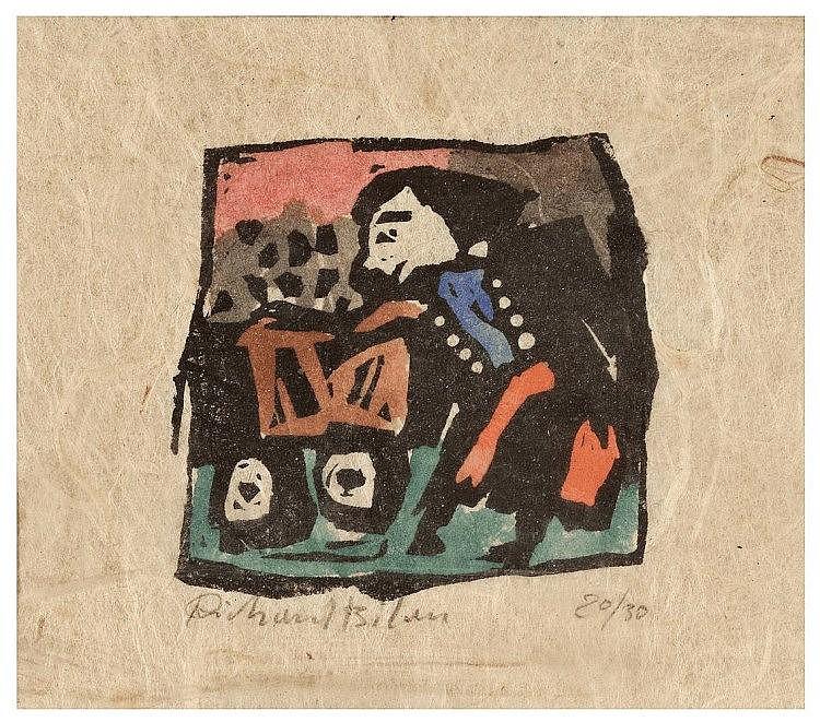 Richard Bilan (Polish - French - Israeli, b. 1946)
