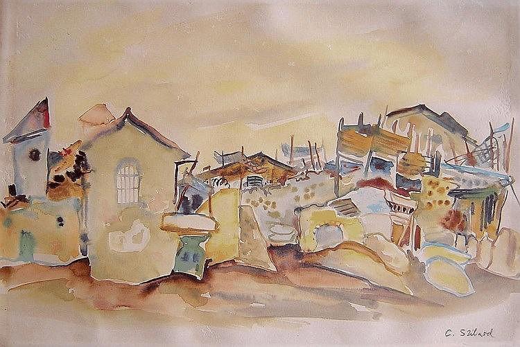 Claire (Klara) Szilard (Hungarian - Israeli, b.1921)